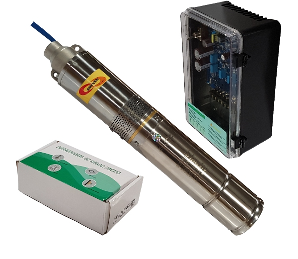 Solar Borehole Pump Motor and Auto Controler Only