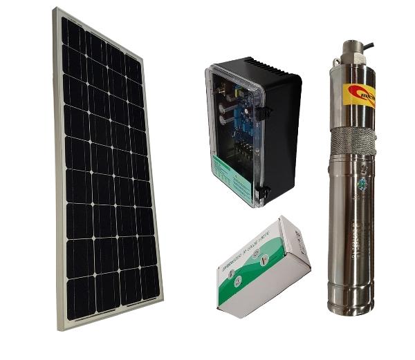 HSP24/120 Solar Borehole Pump Complete