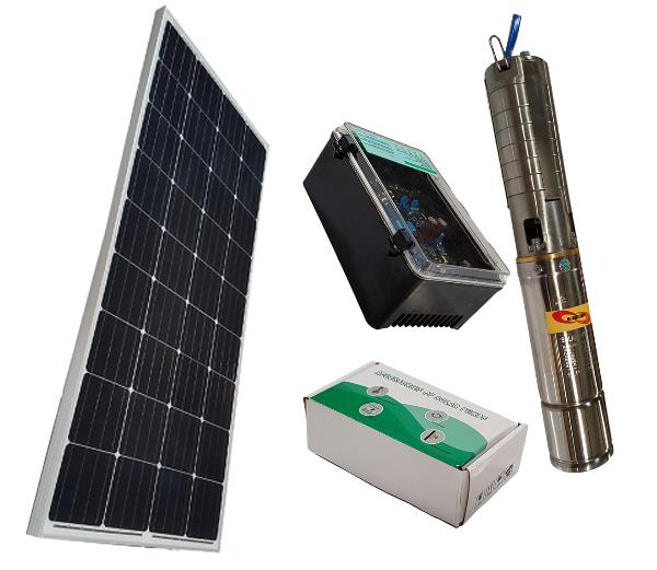 HSP36/300 Solar Borehole Pump Complete