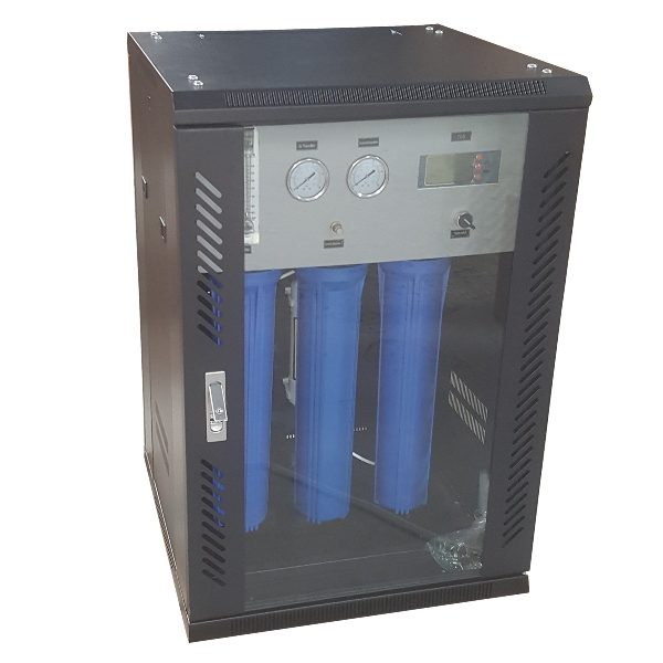 RO-400G-B07 Luxury Steel Box RO System with IC Controler