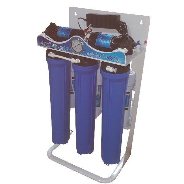 ro-400g-d02b 5-Stage RO System with Steel Shelf