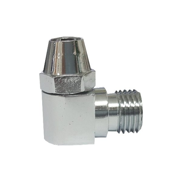 "CT-01 Metal Connector 1/4"" - 3/8"" Tube"