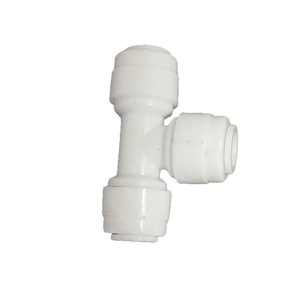 """DCC-009A Tee Union Adaptor 1/4"""" Tube 1/4"""" Tube 1/4"""" Tube"""