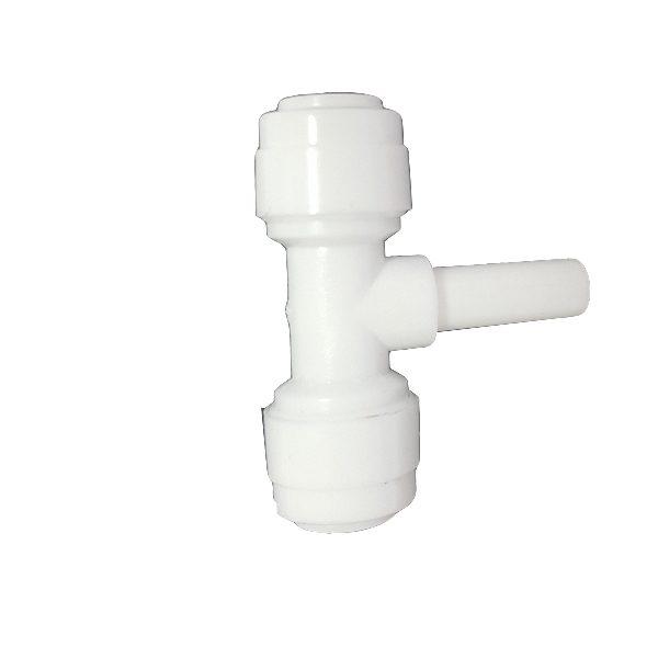 "DCC-010A Tee Adaptor Stem/Ping 1/4"" Tube 1/4"" Tube 1/4"" Stem"