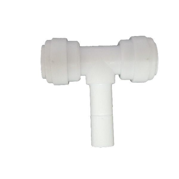 """DCC-010D Tee Adaptor Stem/Ping 3/8"""" Tube 3/8"""" Tube 3/8"""" Stem"""
