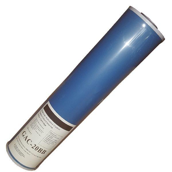 "GAC-20B Filter Cartridge 20"" Granular Activated Carbon for Big Blue Housing"