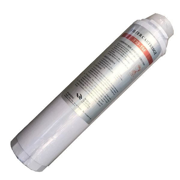 """T33-10F Filter Cartridge 10"""" Activated Carbon Bayonet Fitting"""