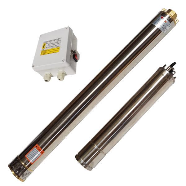 4SD2/37PMSC Borehole Pump Complete 220V 2.2KW Standard Control Box